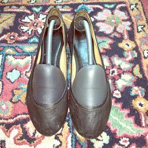 Frye Carson Black Flats - Size 10.5